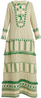DAY Birger et Mikkelsen DODO BAR OR Samuelle striped cotton dress