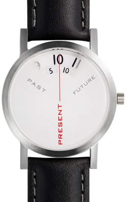 Projects Watches Leather Past, Present & Future Watch