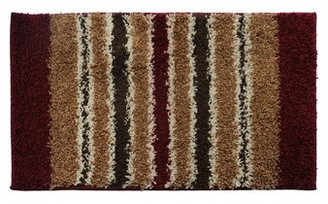 Attraction Design Home Red/Brown Area Rug Attraction Design Home