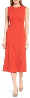 Women's Boss Dymeani Midi Dress $1,095 thestylecure.com