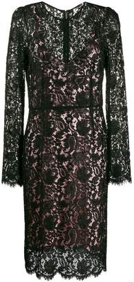 Dolce & Gabbana Pre-Owned lace shift dress