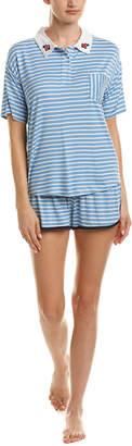 Kensie 2Pc Pajama Short Set