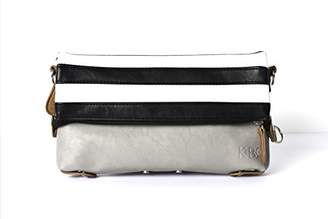 K&Bo Abbey Convertible Crossbody Bag And Clutch For Women