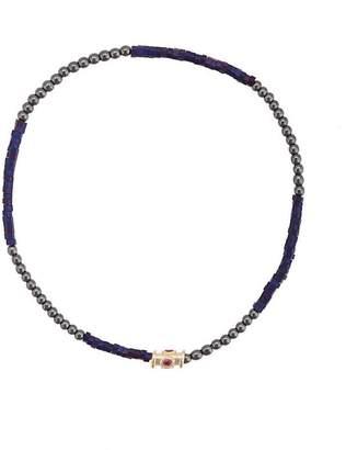 Luis Morais colour block barrel bracelet