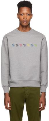 Paul Smith Grey Regular Fit Sweatshirt