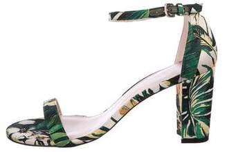Stuart Weitzman NearlyNude Tropical Sandals