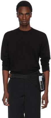 Prada Black Cotton Sweater