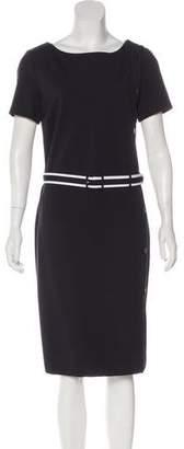 Tory Burch Short Sleeve Midi Dress