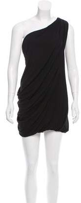 Yigal Azrouel Cut25 by One-Shoulder Mini Dress