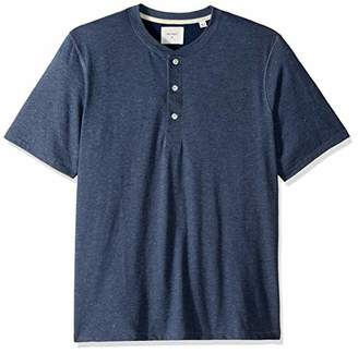 Billy Reid Men's's Short Sleeve Hunter Henley Shirt
