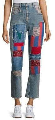 Tommy Hilfiger Patched Denim Pants