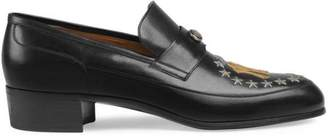 Gucci Men's loafer with NY YankeesTM patch