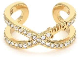 Juicy Couture Pave Infinity Luxe Wishes Ring