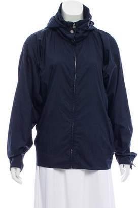 Chanel Logo Windbreaker Jacket