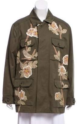 Valentino 2017 Military Coat w/ Tags