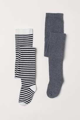 H&M 2-pack Tights