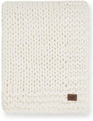 UGG Wharf Knit Throw Blanket