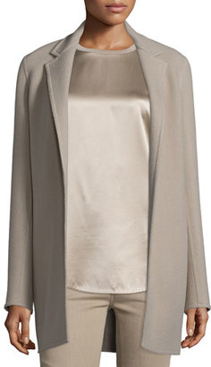 Ralph Lauren Collection Addison Open-Front Jacket, Taupe $3,590 thestylecure.com