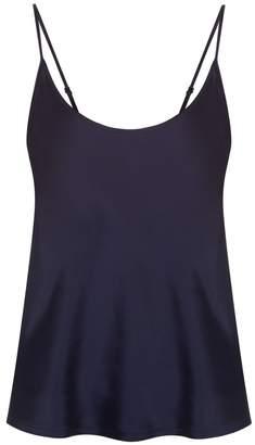La Perla Silk Midnight Blue Silk Pyjama Top