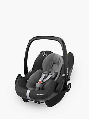 Maxi-Cosi Pebble Pro i-Size Group 0+ Baby Car Seat, Sparkling Grey