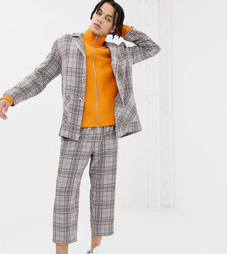Reclaimed Vintage relaxed check blazer