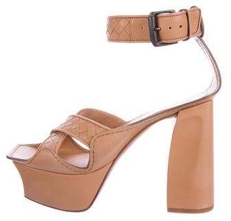 Bottega VenetaBottega Veneta Intrecciato Platform Sandals