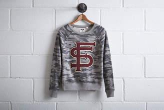 Tailgate Women's Florida State Camo Sweatshirt