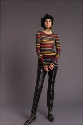 Sonia Rykiel Long-Sleeved Striped T-Shirt