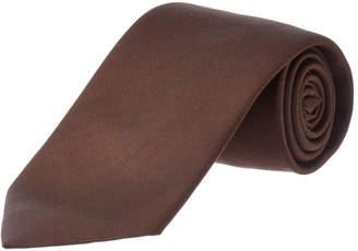 Dolce & Gabbana Dark Brown Silk Tie