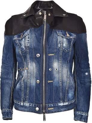DSQUARED2 Zip-up Denim Jacket