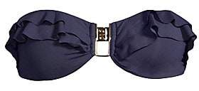 Melissa Odabash Women's Kitts Ruffled Bandeau Bikini Top