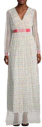 Manoush Plumetis Long Dress