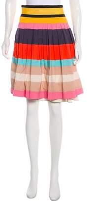 Diane von Furstenberg Caranita Striped Skirt