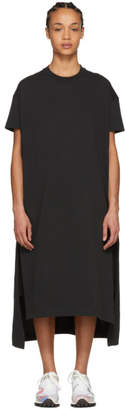 Acne Studios Black Patri T-Shirt Dress