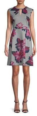 Tommy Hilfiger Floral A-Line Dress