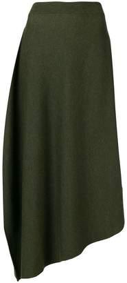 J.W.Anderson high waisted asymmetric skirt