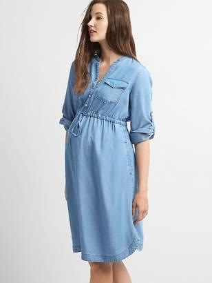 Gap Maternity Perfect Shirtdress in TENCEL