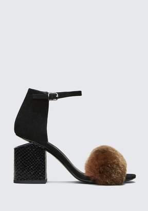 Alexander Wang Abby Mid Heel Sandal