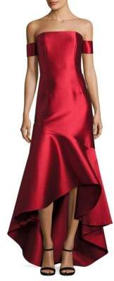 Sachin + Babi Ethel Off-The-Shoulder Gown