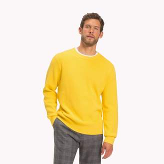 Tommy Hilfiger Wool and Cotton Ribbed Sweater