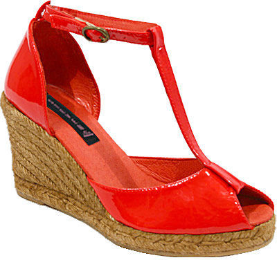 Steve Madden Calistaa Red Patent