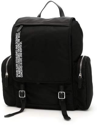 Calvin Klein Flap Backpack