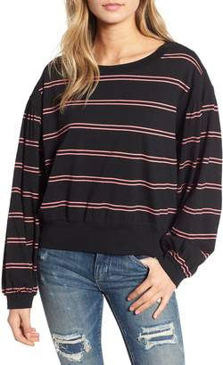 BP Stripe Puff Sleeve Tee