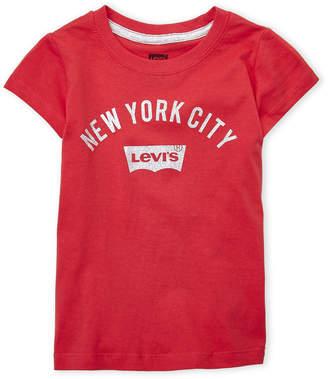 Levi's Girls 4-6x) New York City Tee