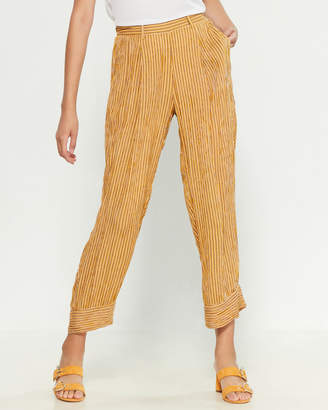 Band of Gypsies Porto Pleated Cuff Pants