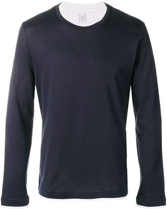 Eleventy layered long sleeve T-shirt