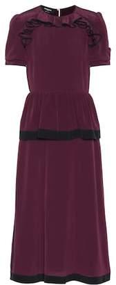 Rochas Silk crêpe dress