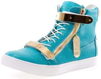 Jump J75 by Men's Zion High-Top Fashion Sneaker 10 D US