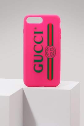 Gucci Rubber iPhone 7 case with logo