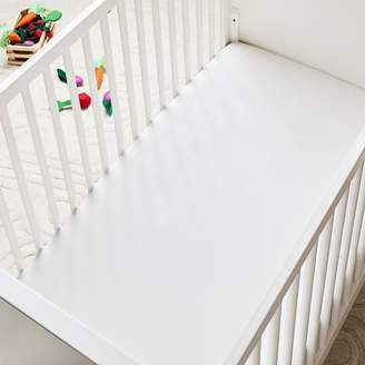 west elm TENCELTM Crib Fitted Sheet - White